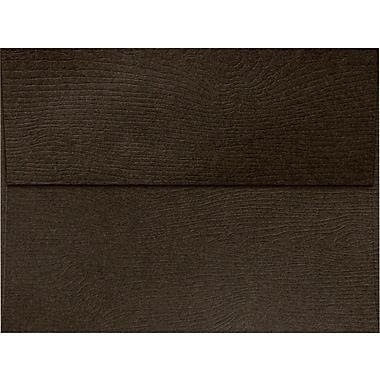 LUX A7 Invitation Envelopes (5 1/4 x 7 1/4) 250/Box, Teak Woodgrain (5380-S03-250)