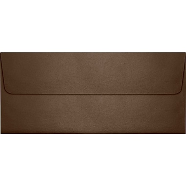 LUX #10 Square Flap Envelopes (4 1/8 x 9 1/2) 50/box, Bronze Metallic (5360-12-50)