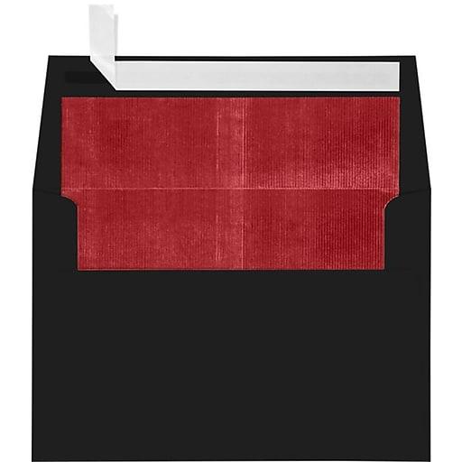 lux a4 foil lined invitation envelopes 4 1 4 x 6 1 4 250 box