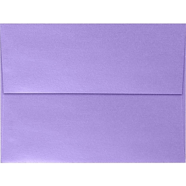 LUX A7 Invitation Envelopes (5 1/4 x 7 1/4), Amethyst Metallic, 50/Box (5380-17-50)