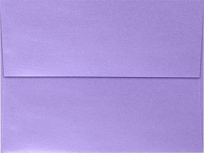 LUX A7 Invitation Envelopes (5 1/4 x 7 1/4) 50/Box, Amethyst Metallic (5380-17-50)
