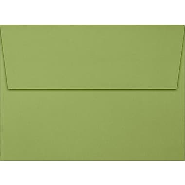 LUX A7 Invitation Envelopes (5 1/4 x 7 1/4) 50/Box, Avocado (EX4880-27-50)