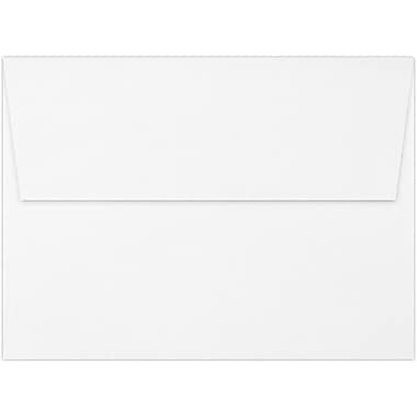 LUX A7 Invitation Envelopes (5 1/4 x 7 1/4) 50/Box, Bright White - 100% Cotton (4880-SW-50)