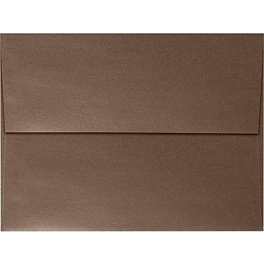 LUX A7 Invitation Envelopes (5 1/4 x 7 1/4) 50/Box, Bronze Metallic (5380-12-50)