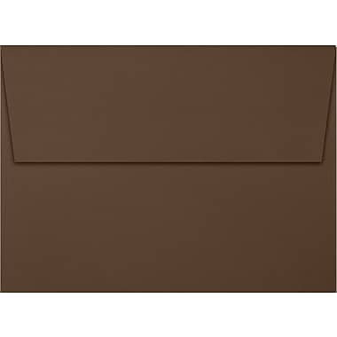 LUX A7 Invitation Envelopes (5 1/4 x 7 1/4) 50/Box, Chocolate (EX4880-17-50)