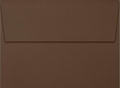 LUX A7 Invitation Envelopes (5 1/4 x 7 1/4) 250/Box, Chocolate (EX4880-17-250)