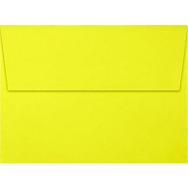 LUX A7 Invitation Envelopes (5 1/4 x 7 1/4) 500/Box, Citrus (FE4280-20-500)