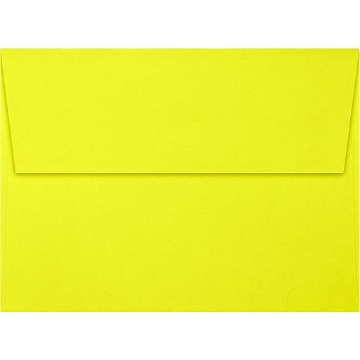 LUX A7 Invitation Envelopes (5 1/4 x 7 1/4) 50/Box, Citrus (FE4280-20-50)