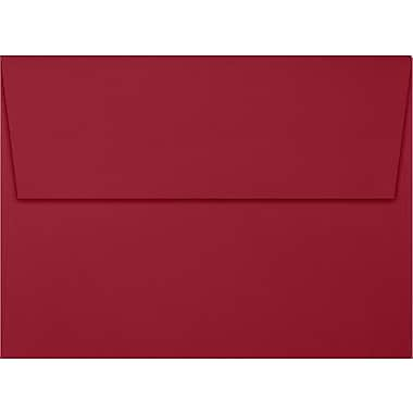 LUX A7 Invitation Envelopes (5 1/4 x 7 1/4), Garnet, 50/Box (EX4880-26-50)