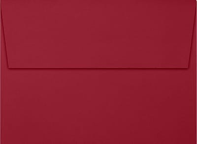 LUX A7 Invitation Envelopes (5 1/4 x 7 1/4) 250/Box, Garnet (EX4880-26-250)