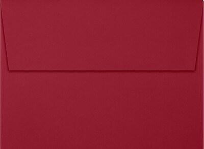 LUX A7 Invitation Envelopes (5 1/4 x 7 1/4) 50/Box, Garnet (EX4880-26-50)
