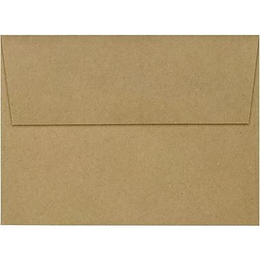 LUX A7 Invitation Envelopes (5 1/4 x 7 1/4) 50/Box, Grocery Bag (4880-GB-50)