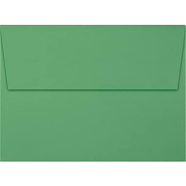 LUX A7 Invitation Envelopes (5 1/4 x 7 1/4) 250/Box, Holiday Green (FE4280-12-250)