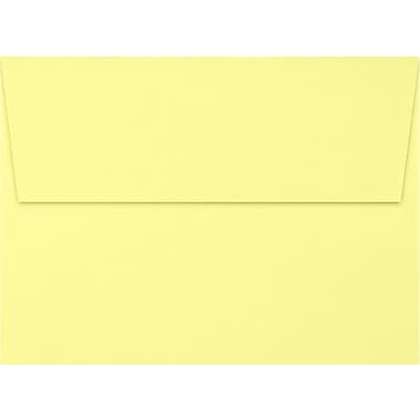 LUX A7 Invitation Envelopes (5 1/4 x 7 1/4), Lemonade, 50/Box (EX4880-15-50)