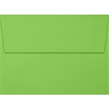 LUX A7 Invitation Envelopes (5 1/4 x 7 1/4) 500/Box, Limelight (LUX-4880-101-25)