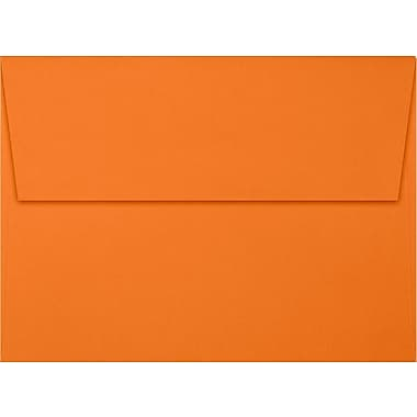 LUX A7 Invitation Envelopes (5 1/4 x 7 1/4) 250/Box, Mandarin (EX4880-11-250)