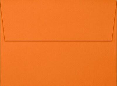 LUX A7 Invitation Envelopes (5 1/4 x 7 1/4) 1000/Box, Mandarin (EX4880-11-1000)