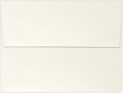 LUX A7 Invitation Envelopes (5 1/4 x 7 1/4) 50/Box, Quartz Metallic (5380-08-50)