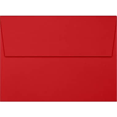 LUX A7 Invitation Envelopes (5 1/4 x 7 1/4), Ruby Red, 50/Box (EX4880-18-50)