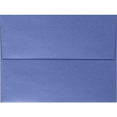 LUX A7 Invitation Envelopes (5 1/4 x 7 1/4) 50/Box, Sapphire Metallic (5380-18-50)