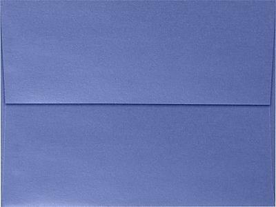 LUX A7 Invitation Envelopes (5 1/4 x 7 1/4) 50/Box, Sapphire Metallic (5380-18-50)