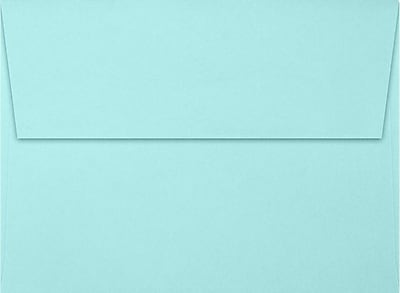 LUX A7 Invitation Envelopes (5 1/4 x 7 1/4) 1000/Box, Seafoam (LUX-48801131000)