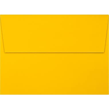 LUX A7 Invitation Envelopes (5 1/4 x 7 1/4) 250/Box, Sunflower (EX4880-12-250)