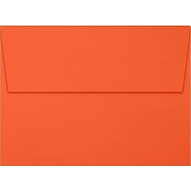 LUX A7 Invitation Envelopes (5 1/4 x 7 1/4) 250/Box, Tangerine (LUX-4880-112250)
