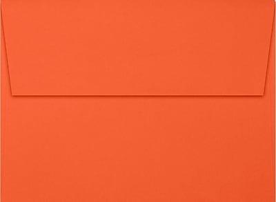LUX A7 Invitation Envelopes (5 1/4 x 7 1/4) 250/Box, Tangerine (LUX-4880-112250)