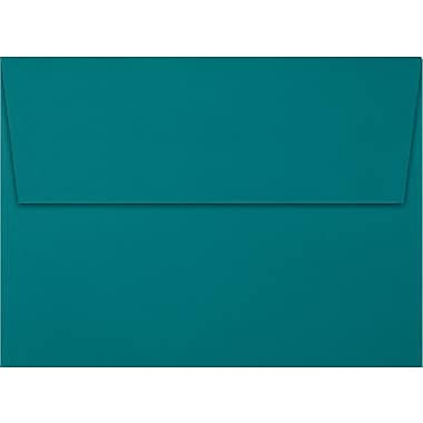 LUX A7 Invitation Envelopes (5 1/4 x 7 1/4) 50/Box, Teal (EX4880-25-50)