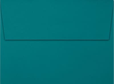 LUX A7 Invitation Envelopes (5 1/4 x 7 1/4) 250/Box, Teal (EX4880-25-250)