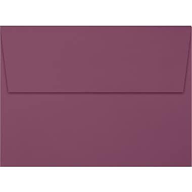 LUX A7 Invitation Envelopes (5 1/4 x 7 1/4) 50/Box, Vintage Plum (LUX-4880-104-50)
