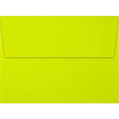 LUX A7 Invitation Envelopes (5 1/4 x 7 1/4) 250/Box, Wasabi (FE4280-22-250)