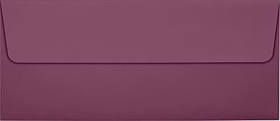 LUX Peel & Press #10 Square Flap Invitation Envelopes (4 1/8 x 9 1/2) 500/Box, Vintage Plum (LUX-4860-104500)