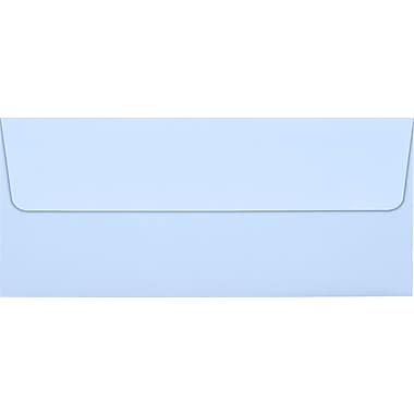 LUX Peel & Press #10 Square Flap Envelopes (4 1/8 x 9 1/2), Baby Blue, 250/Box (EX4860-13-250)