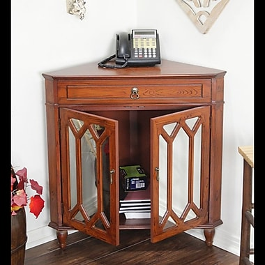 The Holiday Aisle 1 Drawer 2 Door Accent Cabinet; Woodgrain