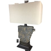 ImmacuLamps Arkansas 28'' State Table Lamp