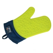 Kitchen Innovations Zeal Steam Stop Waterproof Silicone Oven Mitt; Green
