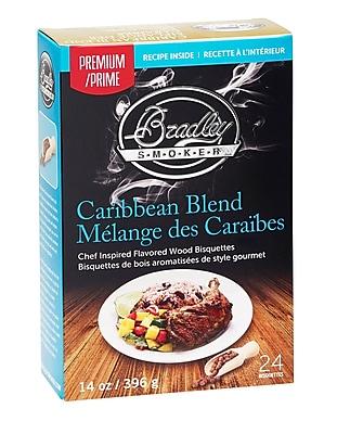 Bradley Smoker Premium Caribbean Blend Bisquettes (Set of 24)