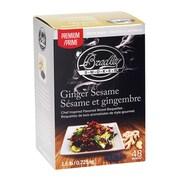 Bradley Smoker Premium Ginger Sesame Bisquettes (Set of 48)