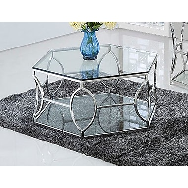 BestMasterFurniture Octagon Coffee Table