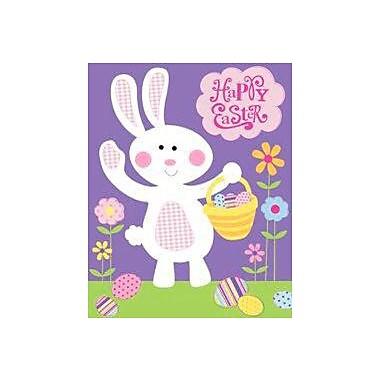 The Cranford Group Easter Bunny w/ a Basket Garden Flag