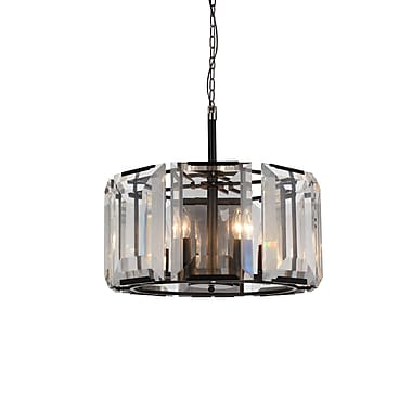 CrystalWorld Jacquet 8-Light Drum Pendant