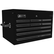 Homak Professional 27'' Wide 9 Drawer Top Chest; Black