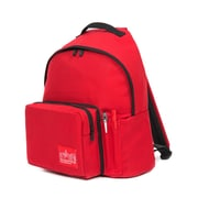 Manhattan Portage Big Apple Backpack With Pen Holder, Medium Size, Red (1210-BD-2 RED)