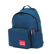 Manhattan Portage Big Apple Backpack With Pen Holder, Medium Size, Navy (1210-BD-2 NVY)