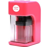 Office + Style Electronic Pencil Sharpener, Pink