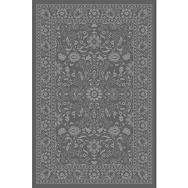 Diagona Designs Anne Oriental Mahal Gray Area Rug; Runner 2'2'' x 6'