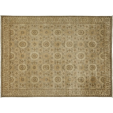 Darya Rugs Oushak Hand-Knotted Beige Area Rug