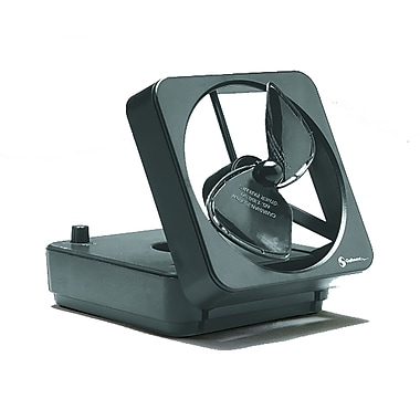 MiniMax 737DXBCS Portable Battery Fan, Black